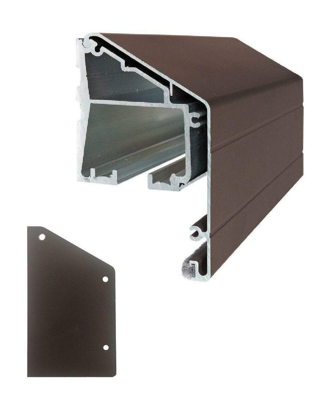 Wall Mount Sliding Door Track Kit - Sliding Barn Door Hardware by RealCraft