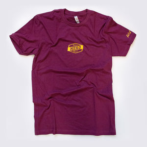 Put A Nerd On It Maroon and Gold tshirt