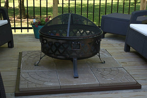 Fire Pit Safety Base
