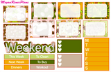 Dino Roar Weekly Kit for the Classic Happy Planner