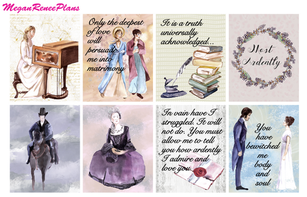 Mr Darcy (Pride and Prejudice Inspired) - FULL BOXES ONLY