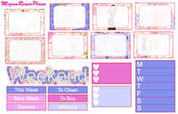 Sex and the City Weekly Kit for the Erin Condren Life Planner Vertical - MeganReneePlans