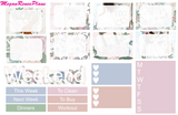 I Do Wedding Weekly Kit for the Erin Condren Life Planner Vertical