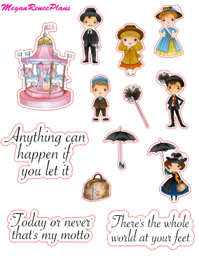 Mary Poppins Inspired Mini Deco Quote Sheet