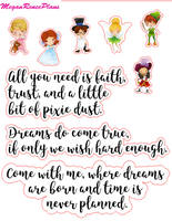Peter Pan Inspired Mini Deco Quote Sheet