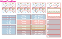 Back to School Weekly Kit for the Erin Condren Life Planner Vertical - MeganReneePlans