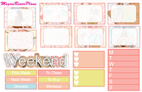 Summer Days Weekly Kit for the Classic Happy Planner - MeganReneePlans