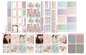 Spring in the Air Weekly Kit for the Erin Condren Life Planner Vertical