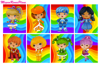 Rainbow Brite themed - FULL BOXES ONLY