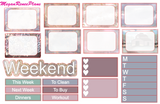 Fall Most of All Weekly Planner Sticker Kit Vertical Standard Size
