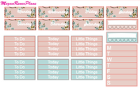 Austenite (Pride and Prejudice Inspired) Weekly Planner Sticker Kit