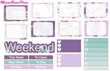 Paris Weekly Kit for the Erin Condren Life Planner Vertical