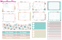 Birch Birds Weekly Kit for the Classic Happy Planner - MeganReneePlans
