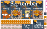 September 2020 Monthly Kit for the Classic Happy Planner - MeganReneePlans