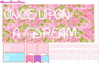 Once Upon A Dream Weekly Kit for the Erin Condren Life Planner Vertical - MeganReneePlans