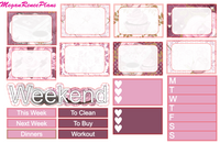 Sunday Morning Weekly Kit for the Classic Happy Planner - MeganReneePlans