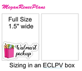 Walmart Grocery Pick Up Matte Planner Stickers - MeganReneePlans