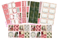 Jingle Weekly Kit for the Erin Condren Life Planner - MeganReneePlans