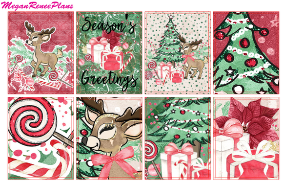 Reindeer Weekly Kit for the Classic Happy Planner