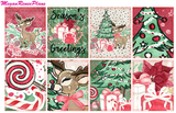 Reindeer Weekly Kit for the Erin Condren Life Planner - MeganReneePlans
