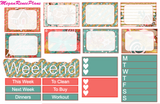 Gingerbread House Weekly Kit for the Classic Happy Planner