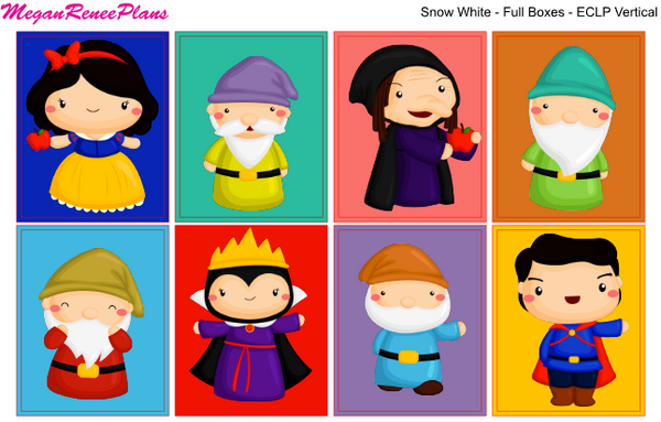 Snow White - FULL BOXES ONLY - MeganReneePlans
