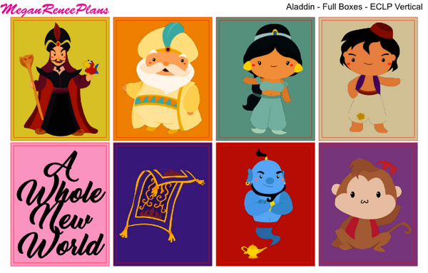 Aladdin - FULL BOXES ONLY - MeganReneePlans