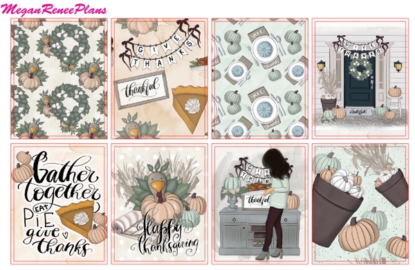 Gather Together Weekly Kit for the Erin Condren Life Planner