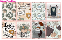 Gather Together Weekly Kit for the Erin Condren Life Planner - MeganReneePlans