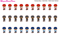 Hockey Boy / Hockey Kid / Hockey Player Planner Stickers - MeganReneePlans