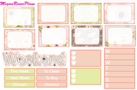 Blossom Weekly Kit for the Classic Happy Planner