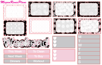 Dirty Dancing Themed Weekly Kit for the Erin Condren Life Planner Vertical - MeganReneePlans
