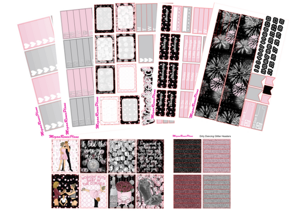Dirty Dancing Themed Weekly Kit for the Classic Happy Planner - MeganReneePlans