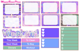 Vegas themed Weekly Kit for the Erin Condren Life Planner Vertical