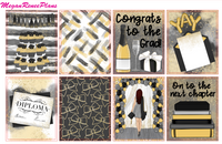 Graduation Themed Weekly Planner Kit for the Classic Happy Planner - MeganReneePlans