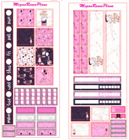 Happy Birthday Glam HOBONICHI WEEKS 2 page Kit - MeganReneePlans