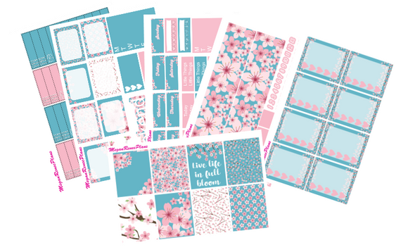 Cherry Blossom Weekly Kit for the Classic Happy Planner