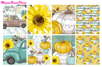 Fall Harvest Weekly Kit for the Classic Happy Planner - MeganReneePlans
