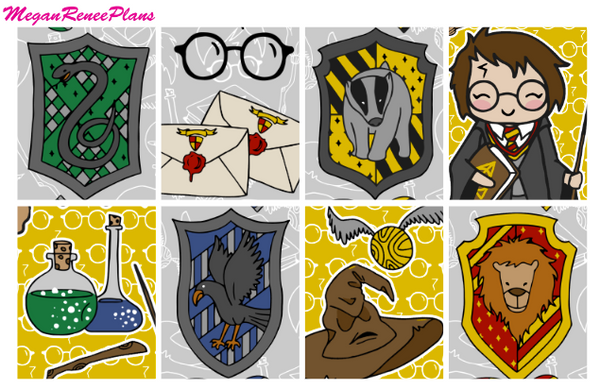 Harry Potter Themed - FULL BOXES ONLY - MeganReneePlans