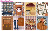 Pumpkin Patch Weekly Kit for the Classic Happy Planner - MeganReneePlans