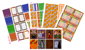 Hocus Pocus Weekly Kit for the Erin Condren Life Planner Vertical