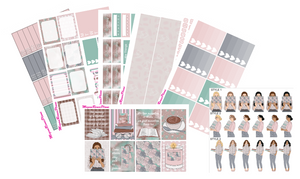 Booklover Weekly Kit for the Erin Condren Life Planner Vertical