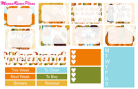 Falling Weekly Kit for the Classic Happy Planner - MeganReneePlans