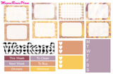 Fall Sweater Weather Weekly Kit for the Classic Happy Planner - MeganReneePlans