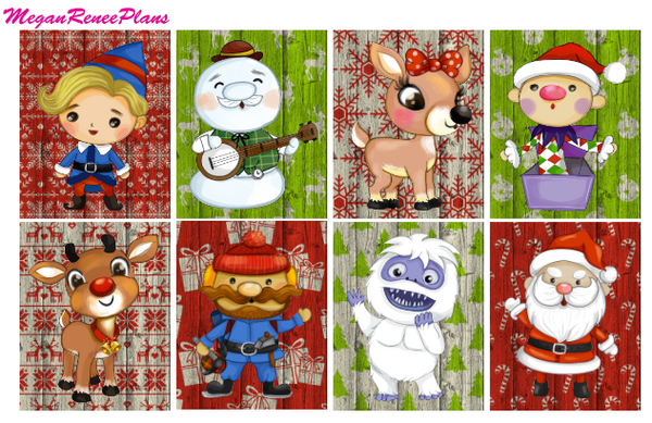 Rudolph - FULL BOXES ONLY - MeganReneePlans