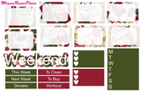 Most Wonderful Time Weekly Kit for the Erin Condren Life Planner - MeganReneePlans