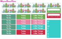 Husky Christmas Weekly Kit for the Classic Happy Planner - MeganReneePlans