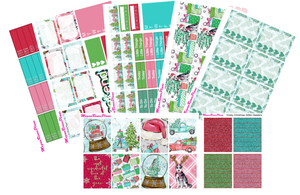 Husky Christmas Weekly Kit for the Classic Happy Planner