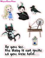 Maleficent Inspired Mini Deco Quote Sheet - MeganReneePlans