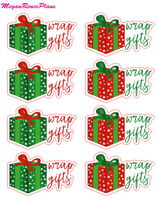 Wrap Gifts Christmas Theme Mini Sheet - MeganReneePlans